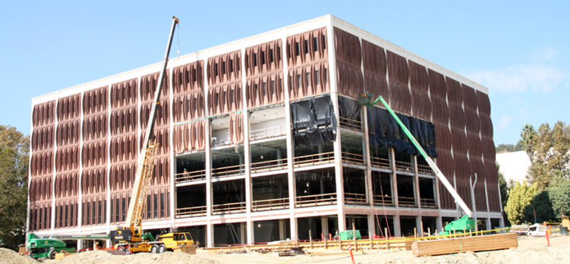 selective demolition glendale library